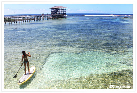 stand up paddle board siargao
